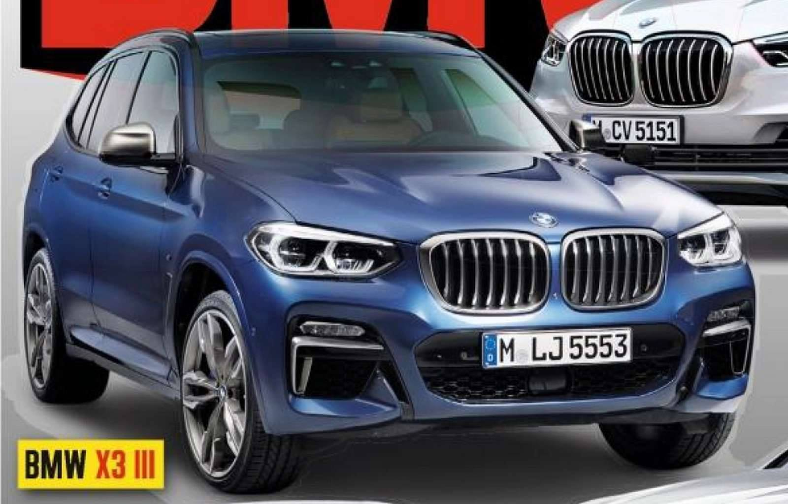BMW X3 gets an early reveal