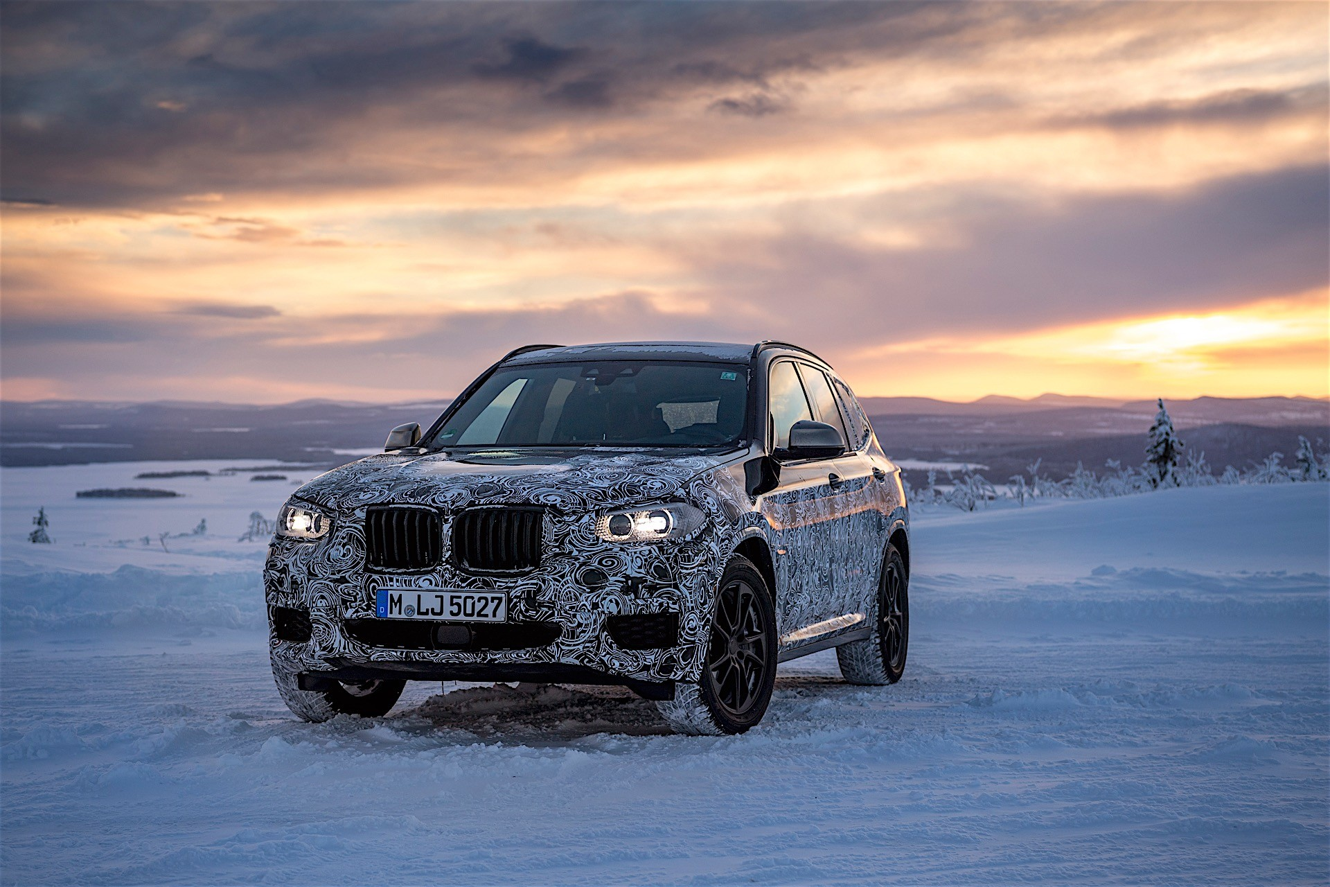 2018 BMW X3 G01 New Spy Shots And Official Release Date >> 2018 Bmw X3 Further Revealed In Official Spyshots