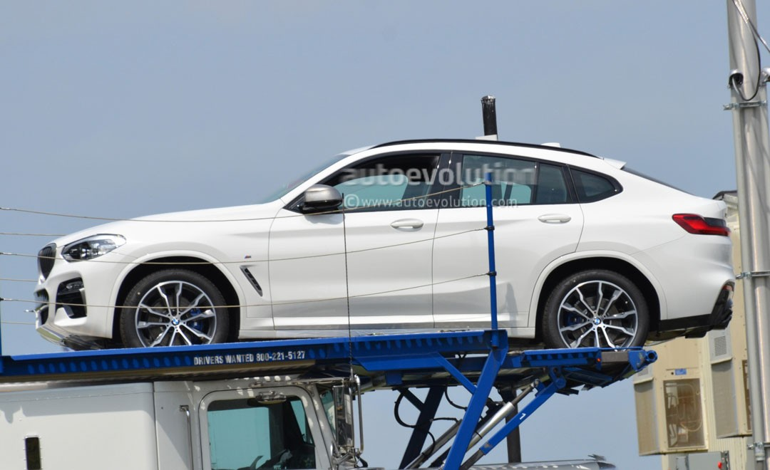 Spyshots 2018 Bmw X4 Loses All Camo To Reveal A Mercedes Glc