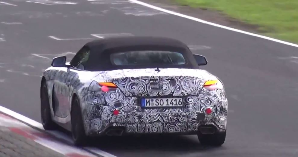 2018 bmw production schedule. unique schedule 2018 bmw z4 prototype on nurburgring inside bmw production schedule