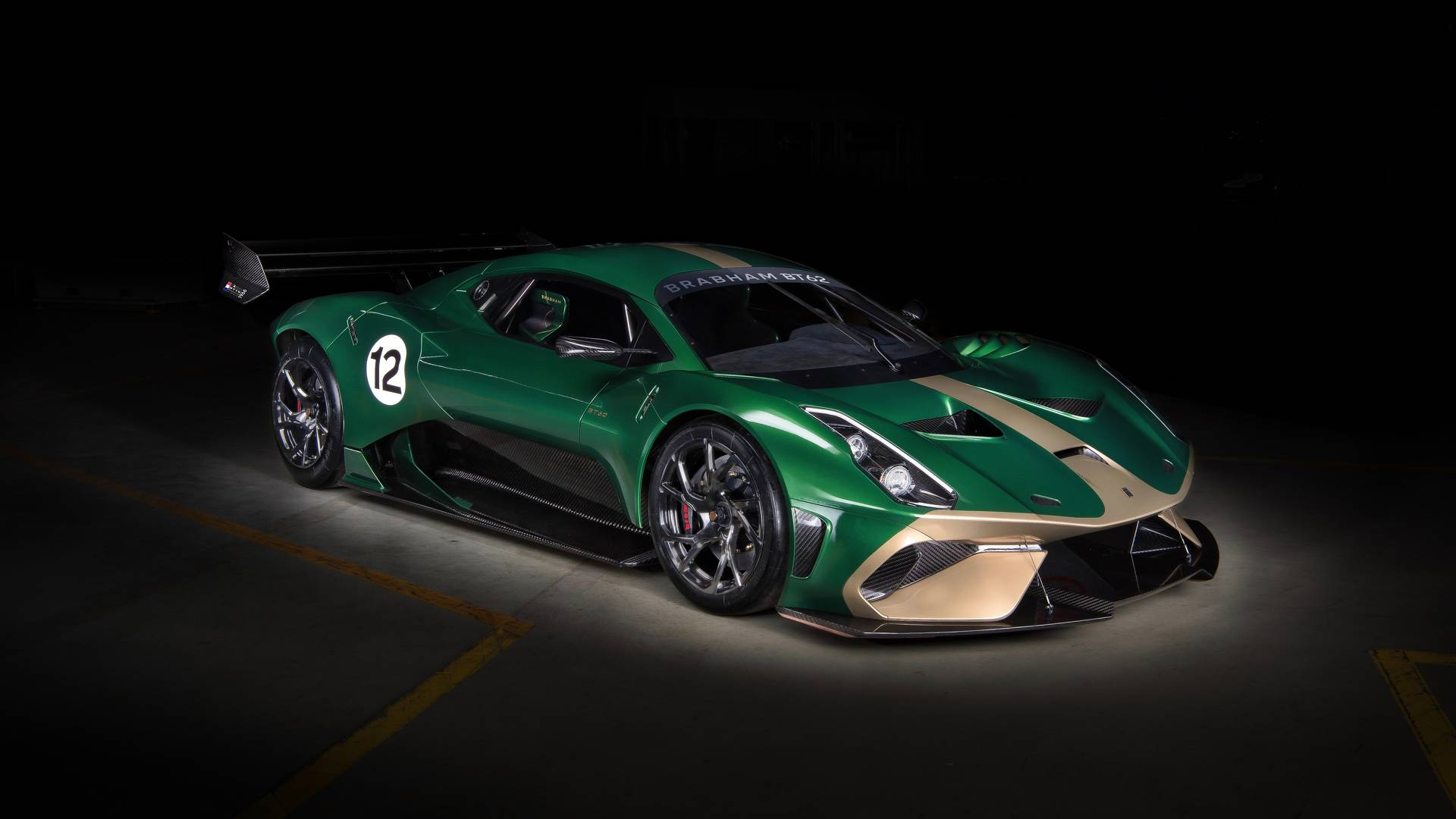 2018 Brabham BT62 Track-only Supercar Goes Official ...