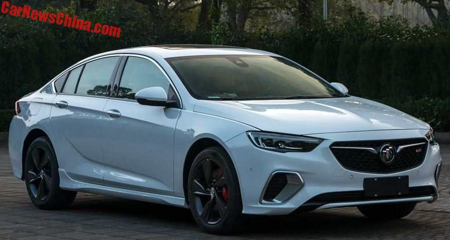 2018 Buick Regal GS Leaks In China, Has 2.0T Engine ...