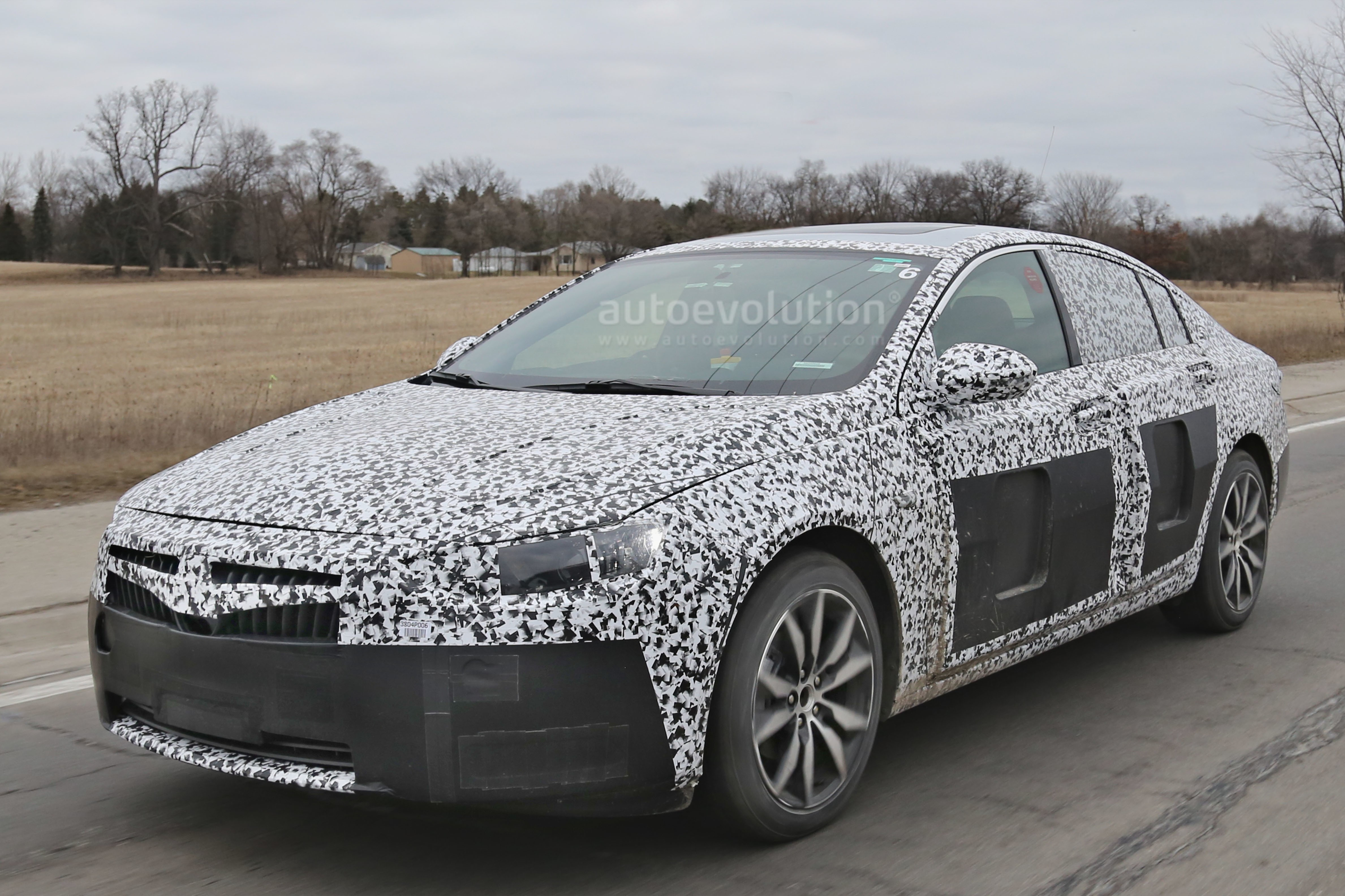 2018 Buick Regal Spied For The First Time Autoevolution