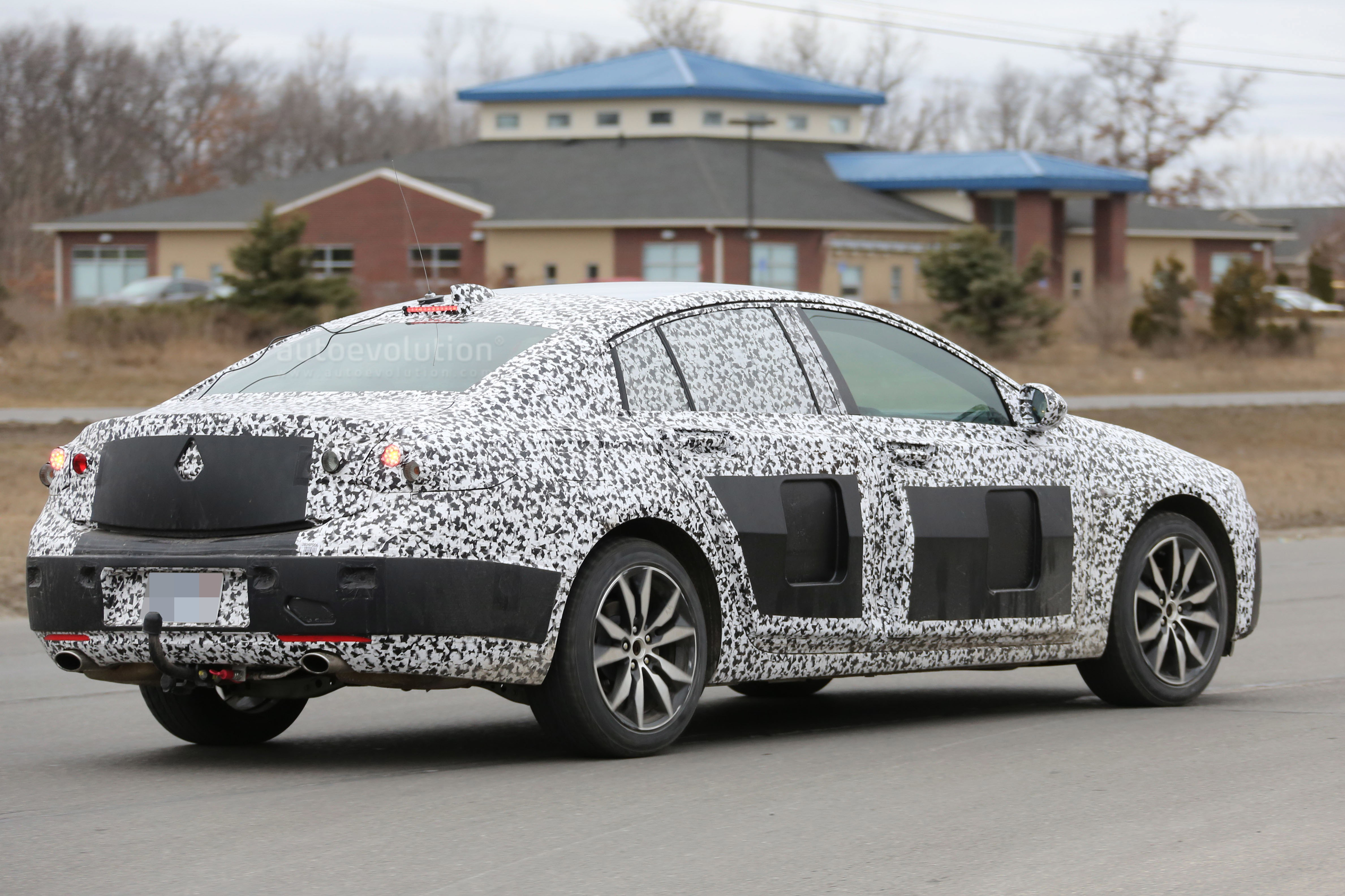 2018 Buick Regal Spied for the First Time - autoevolution