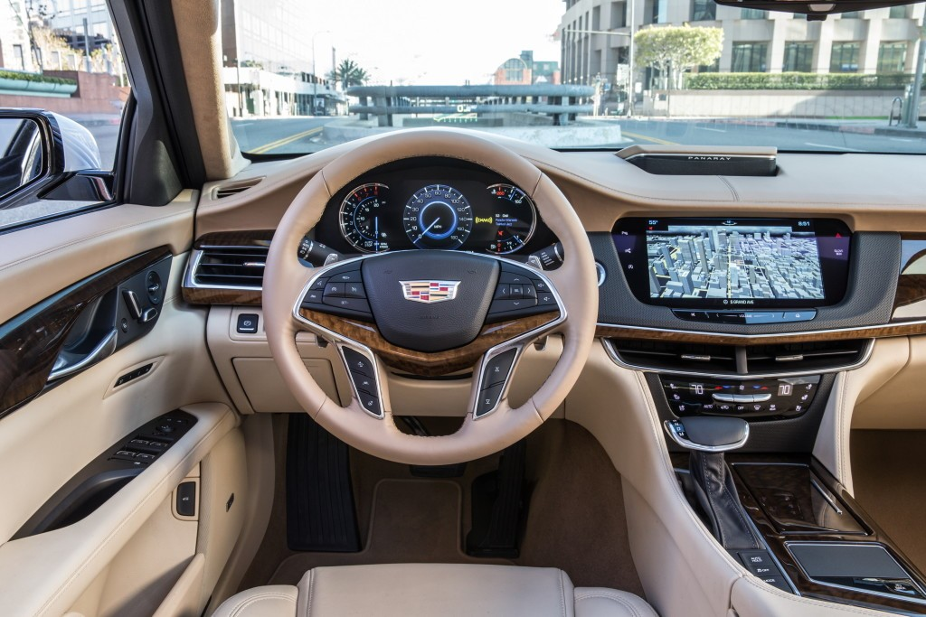 Cadillac CT6 Adds More Goodies For 2018 Model Year, V8 ...