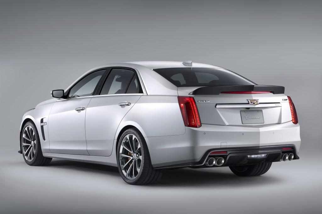 2018 Model Year Brings Minor Changes To Cadillac CTS CTSV