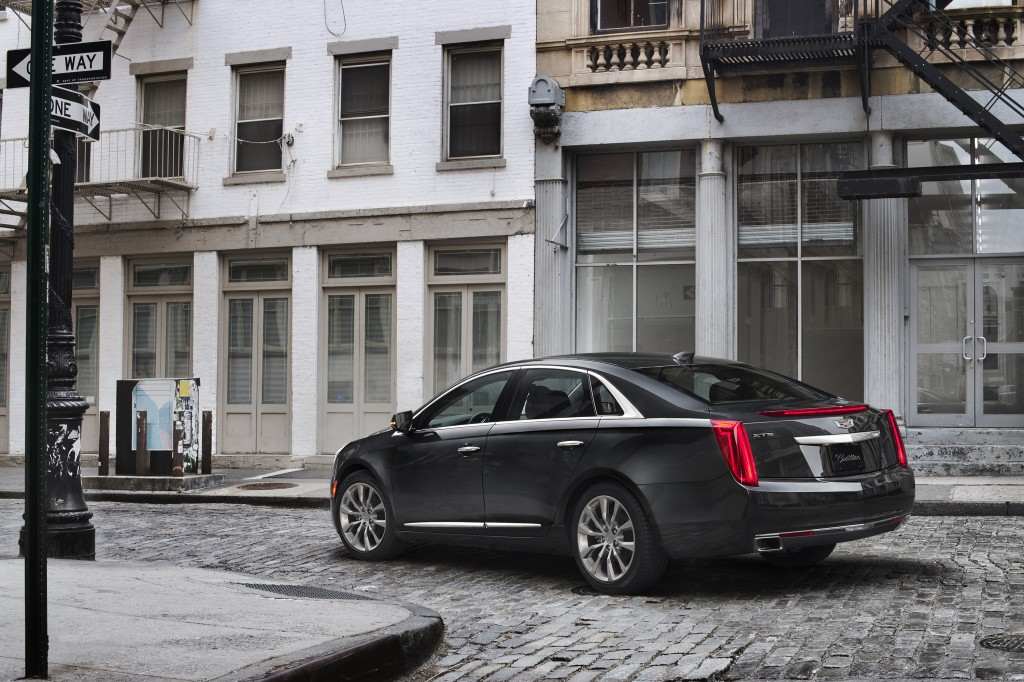 2018 Cadillac XTS Spied Shows CT6 Inspired LED Daytime