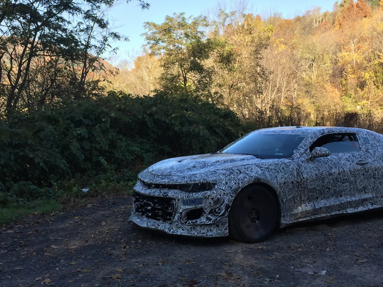 2018 Chevrolet Camaro Z 28 Prototypes Spied In Virginia
