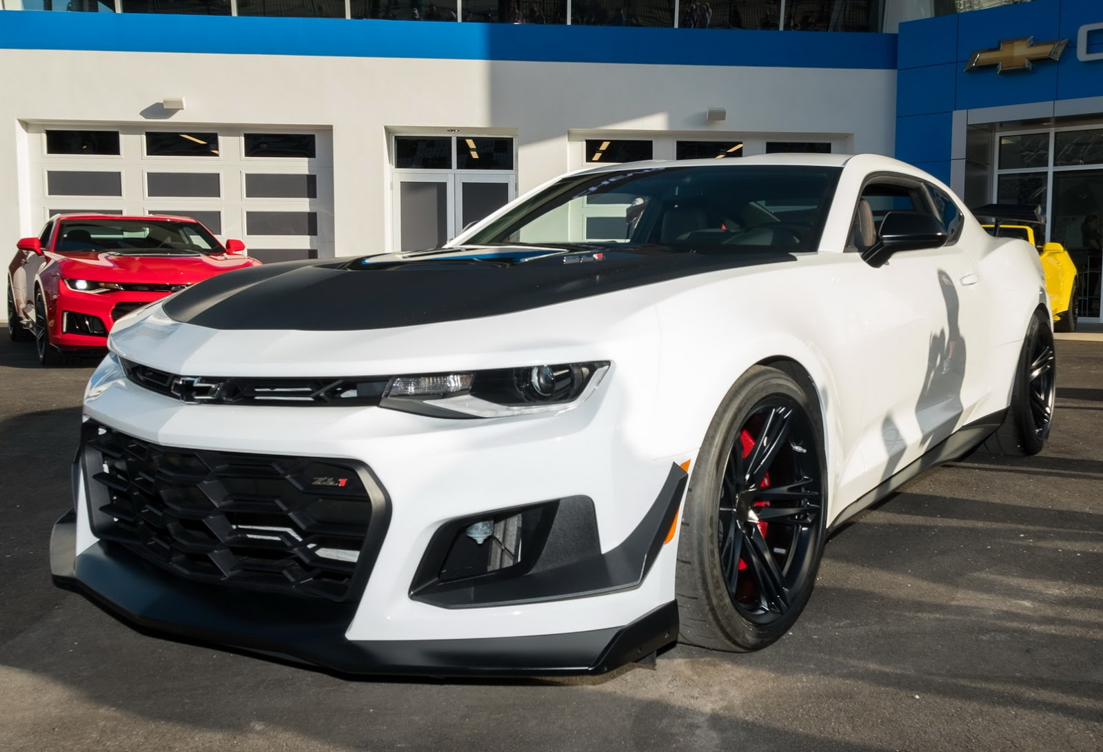 2018 Chevrolet Camaro Zl1 1le Imagined As A Convertible