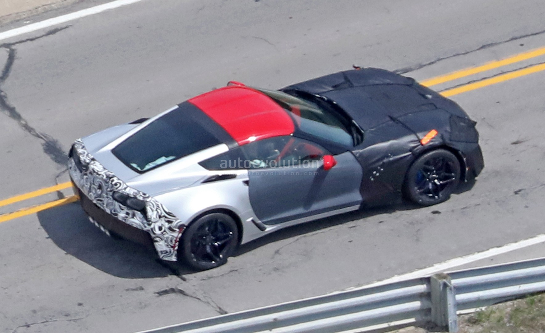 2018 Chevrolet Corvette ZR1 Spied Up Close at GM Milford Proving ...