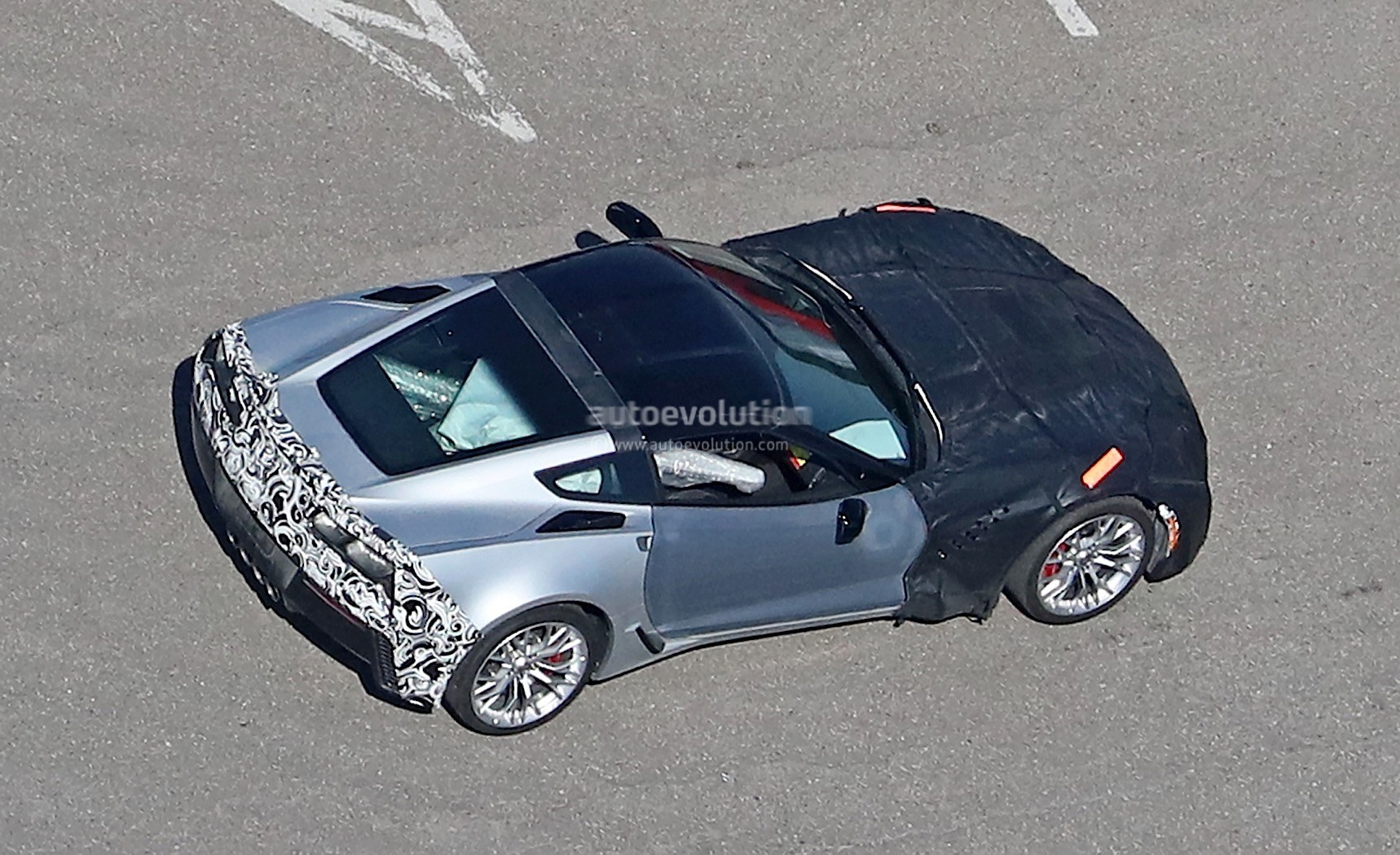 2018 Chevrolet Corvette ZR1 Spied Up Close at GM Milford ...