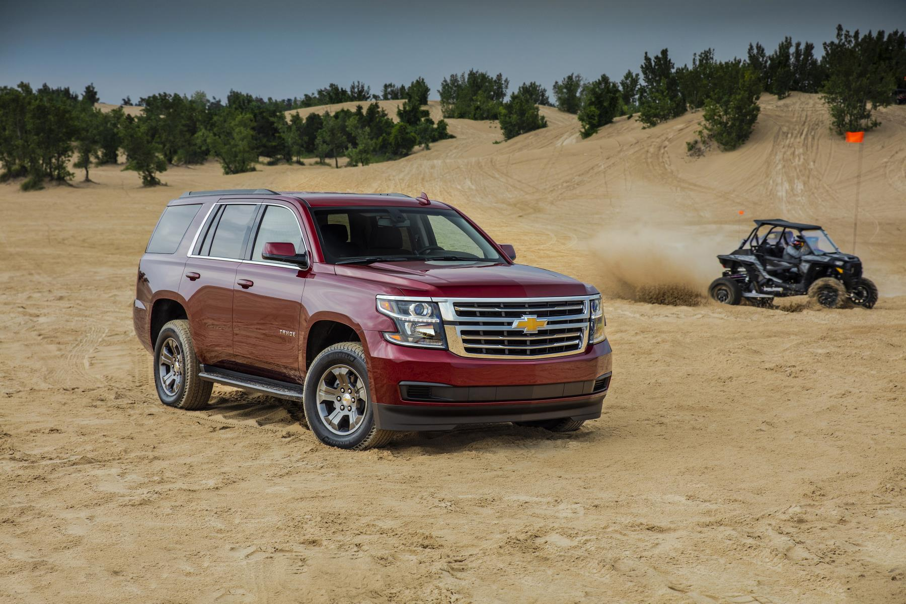 2018 Chevrolet Tahoe Custom Makes Utility Cool Again