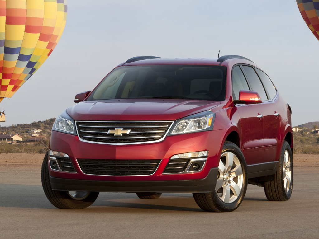 2018 Chevrolet Traverse To Offer 8 Seats Use Gm C1xx