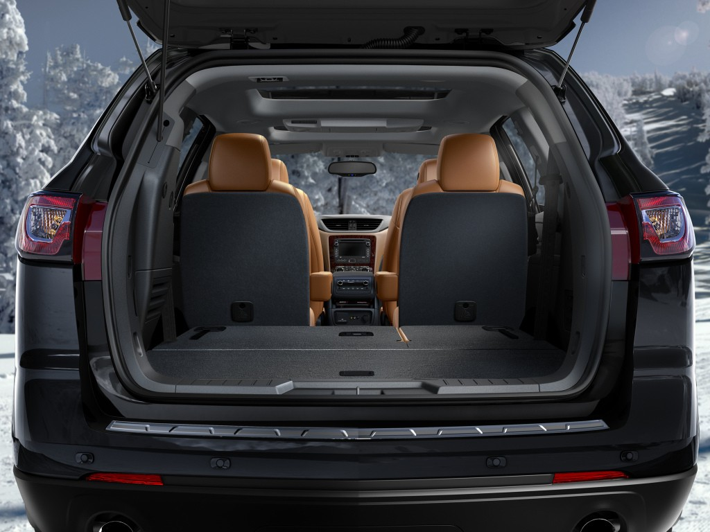 2018 chevrolet traverse to offer 8 seats use gm c1xx platform autoevolution. Black Bedroom Furniture Sets. Home Design Ideas