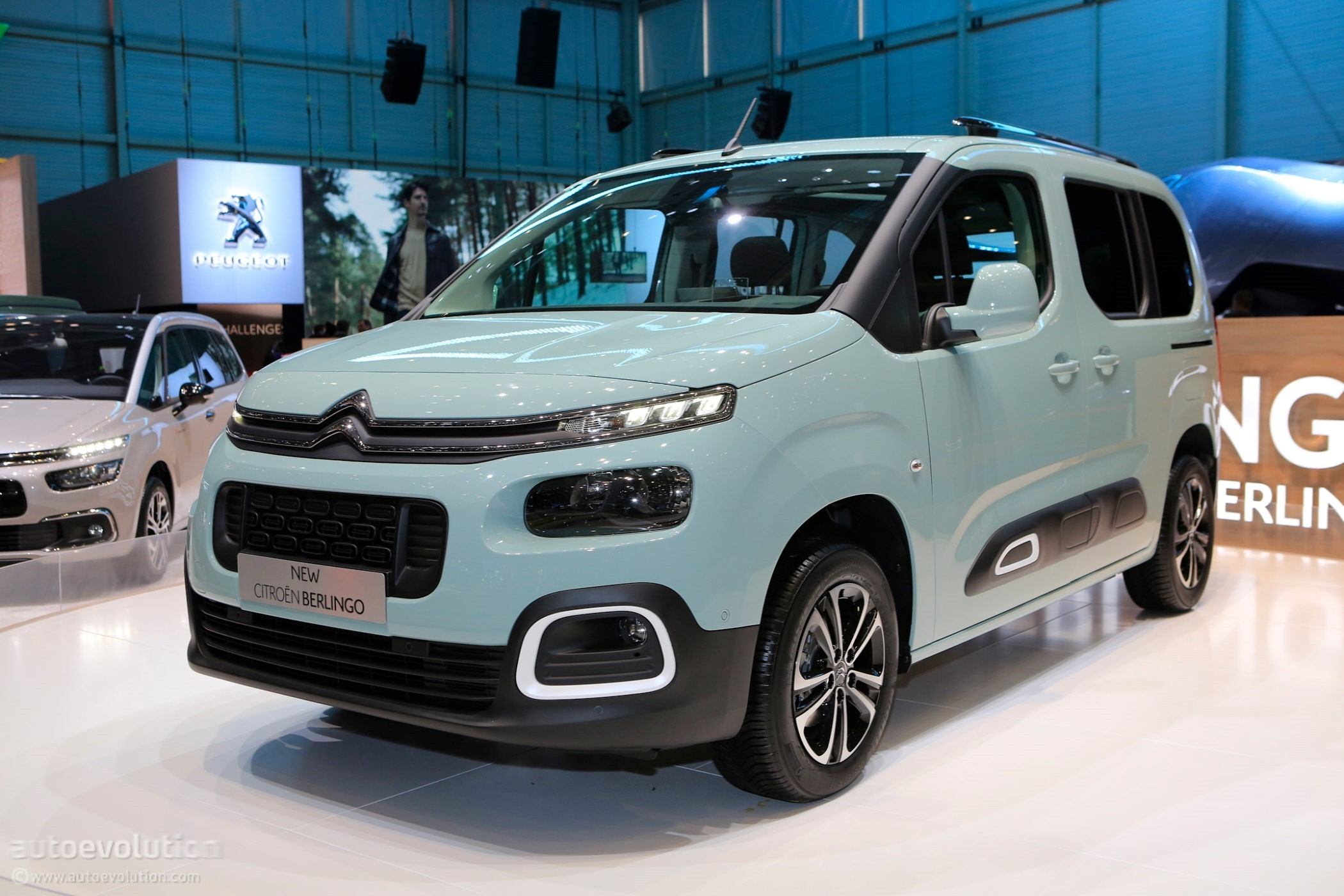 2018 citroen berlingo multispace joins facelifted c4. Black Bedroom Furniture Sets. Home Design Ideas