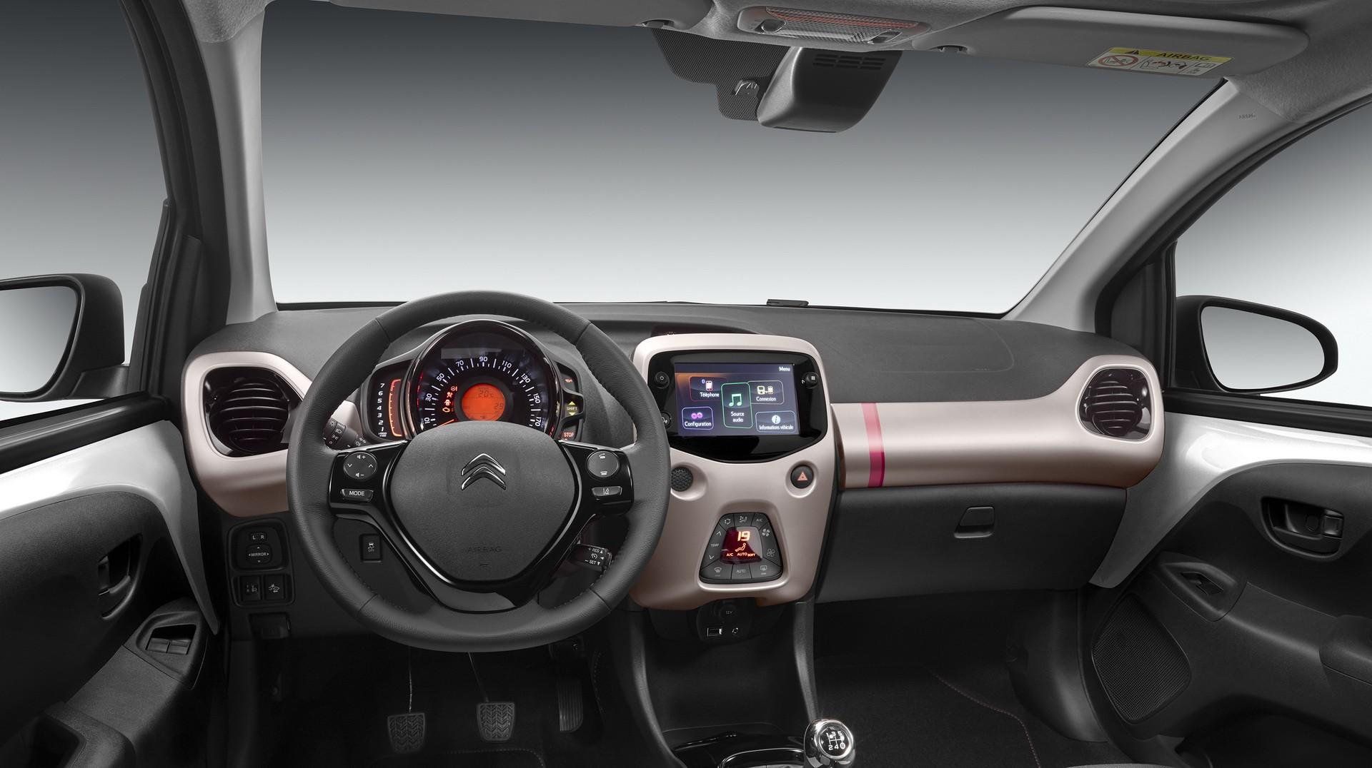 2018 citroen c1 benefits from more power further personalization options autoevolution. Black Bedroom Furniture Sets. Home Design Ideas