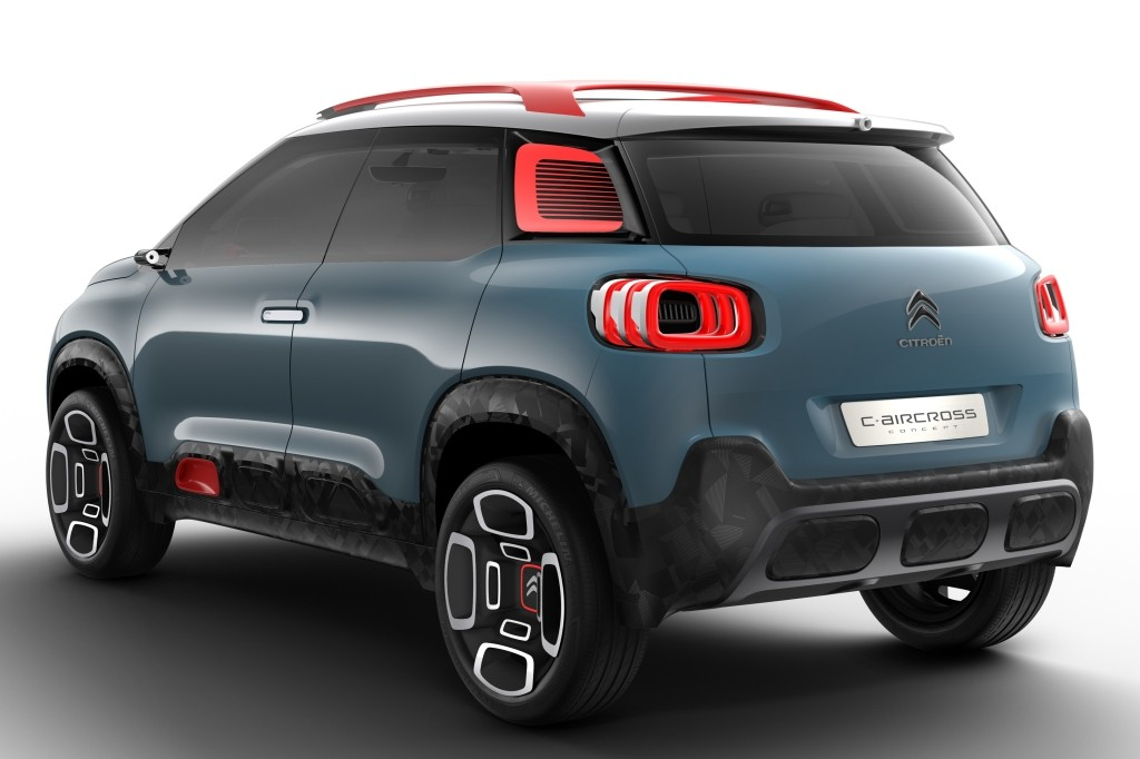 2018 citroen c3 aircross leaked as a scale model autoevolution. Black Bedroom Furniture Sets. Home Design Ideas