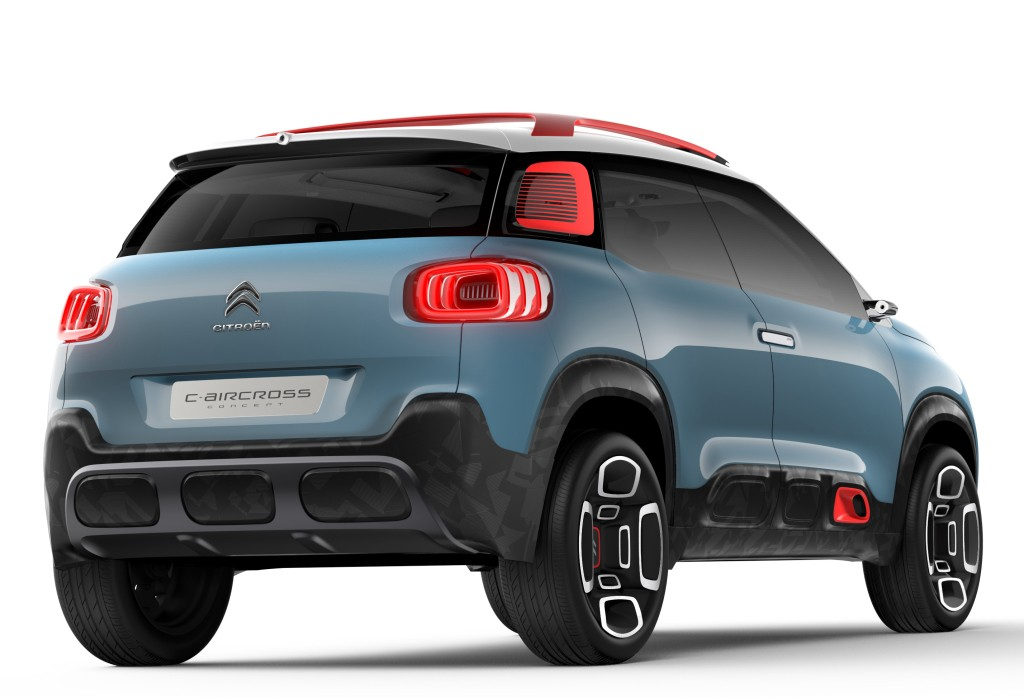 2018 Citroen C3 Aircross Leaked As A Scale Model ...