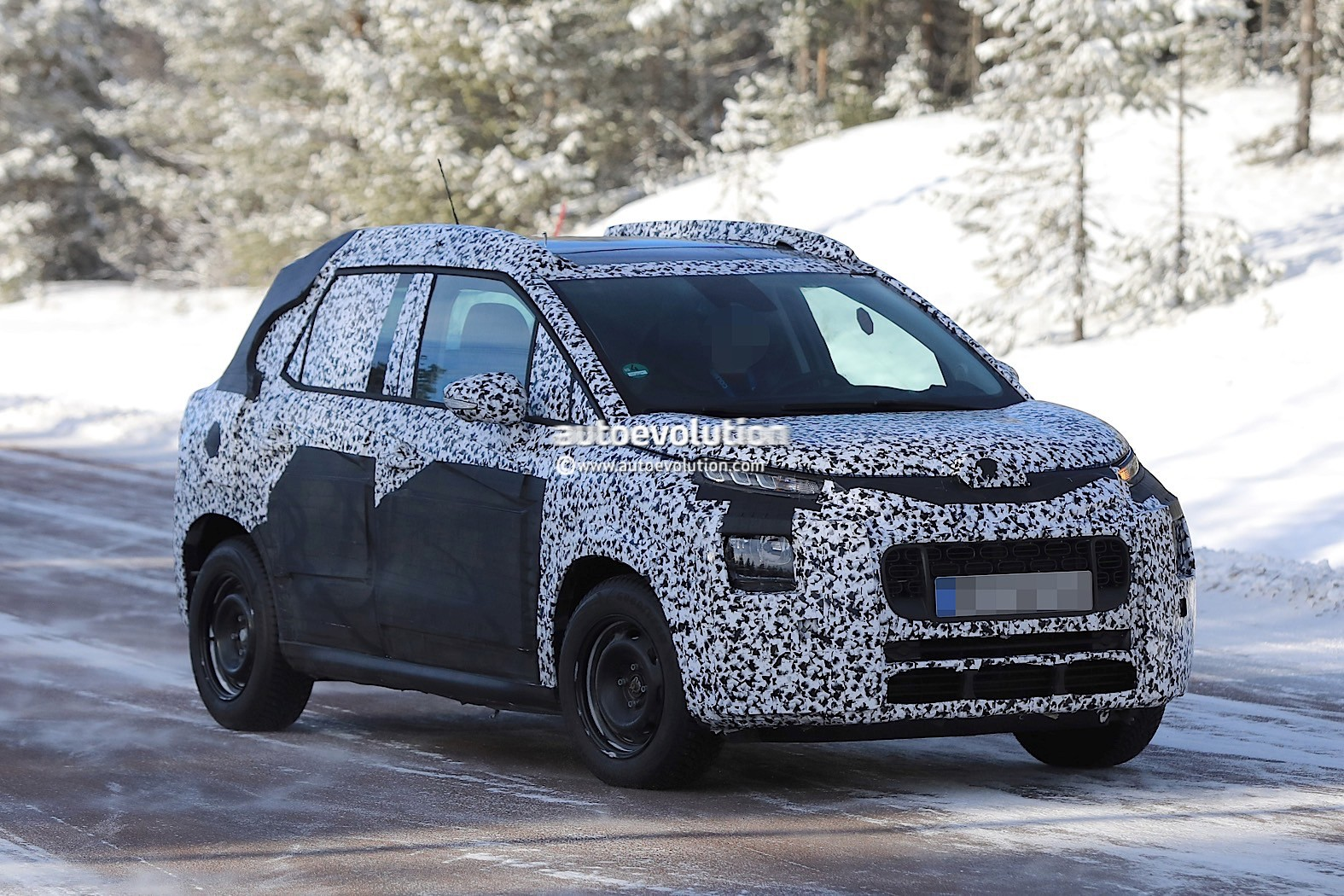 2018 Citroen C3 Picasso Makes A Snowy Appearance Before