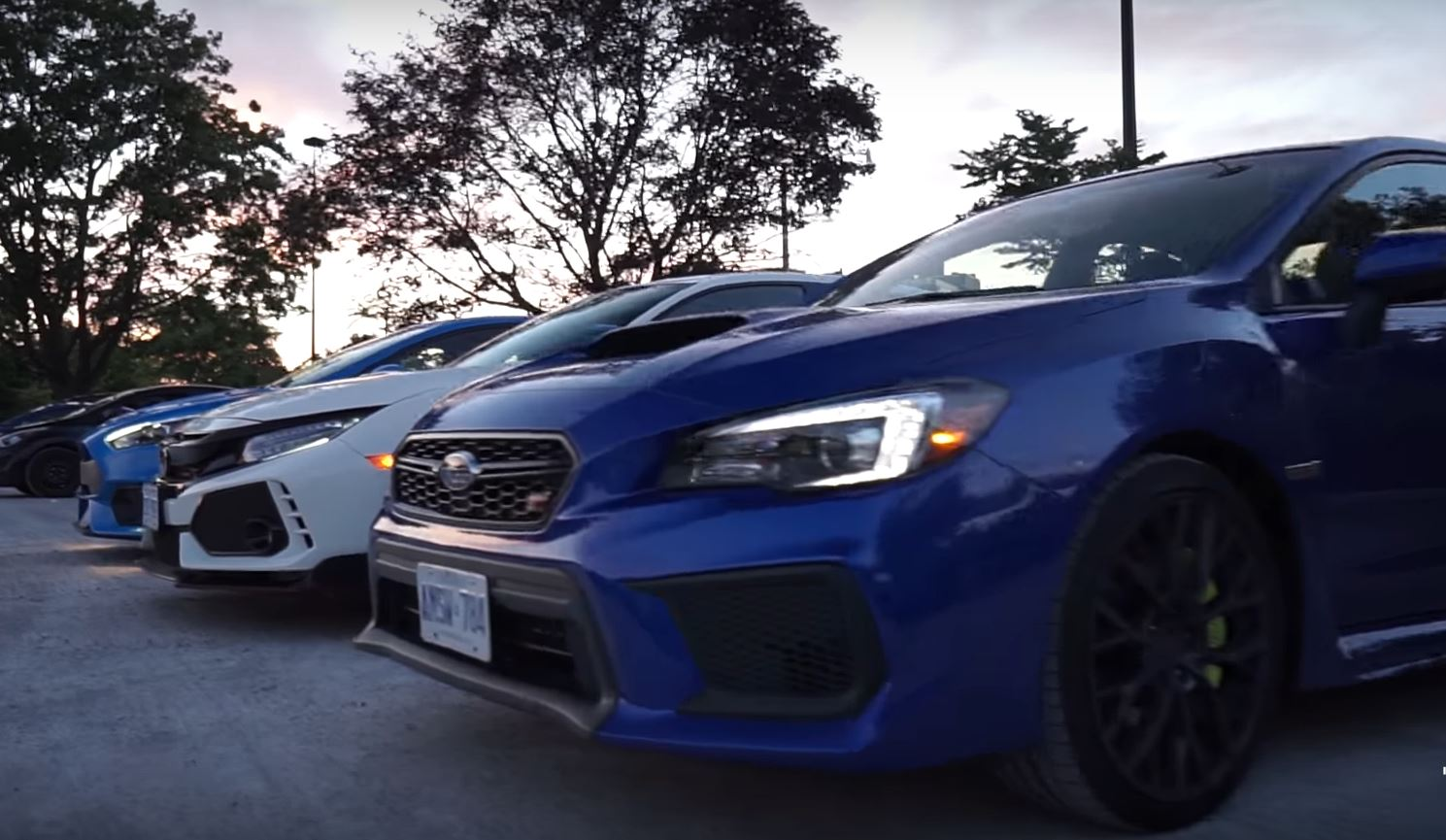 2018 subaru sti hatch.  Subaru 2018 Civic Type R Meets WRX STI And Focus RS In Subaru Sti Hatch
