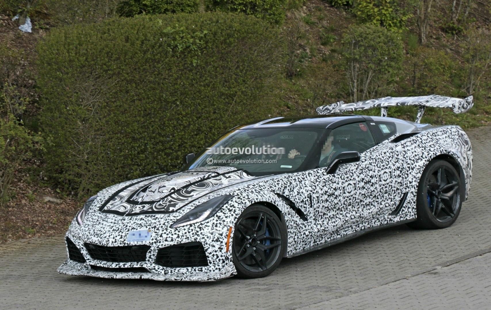 2018 Corvette Zr1 Confirmed With Supercharged Lt5 V8 Engine Autoevolution