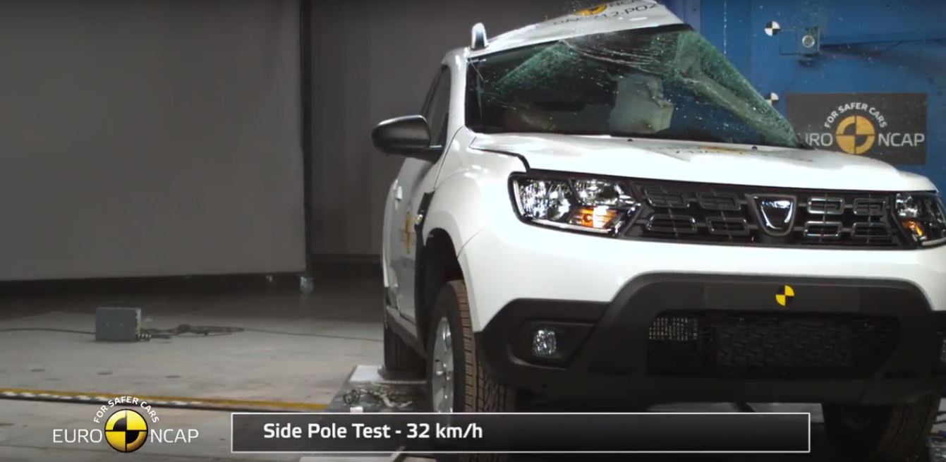 2018 Dacia Duster Gets 3 Star Euro Ncap Rating Whiplash Protection Is Marginal Autoevolution