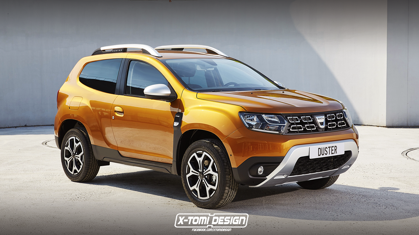 2018 dacia duster gt rendering deserves 200 hp autoevolution. Black Bedroom Furniture Sets. Home Design Ideas