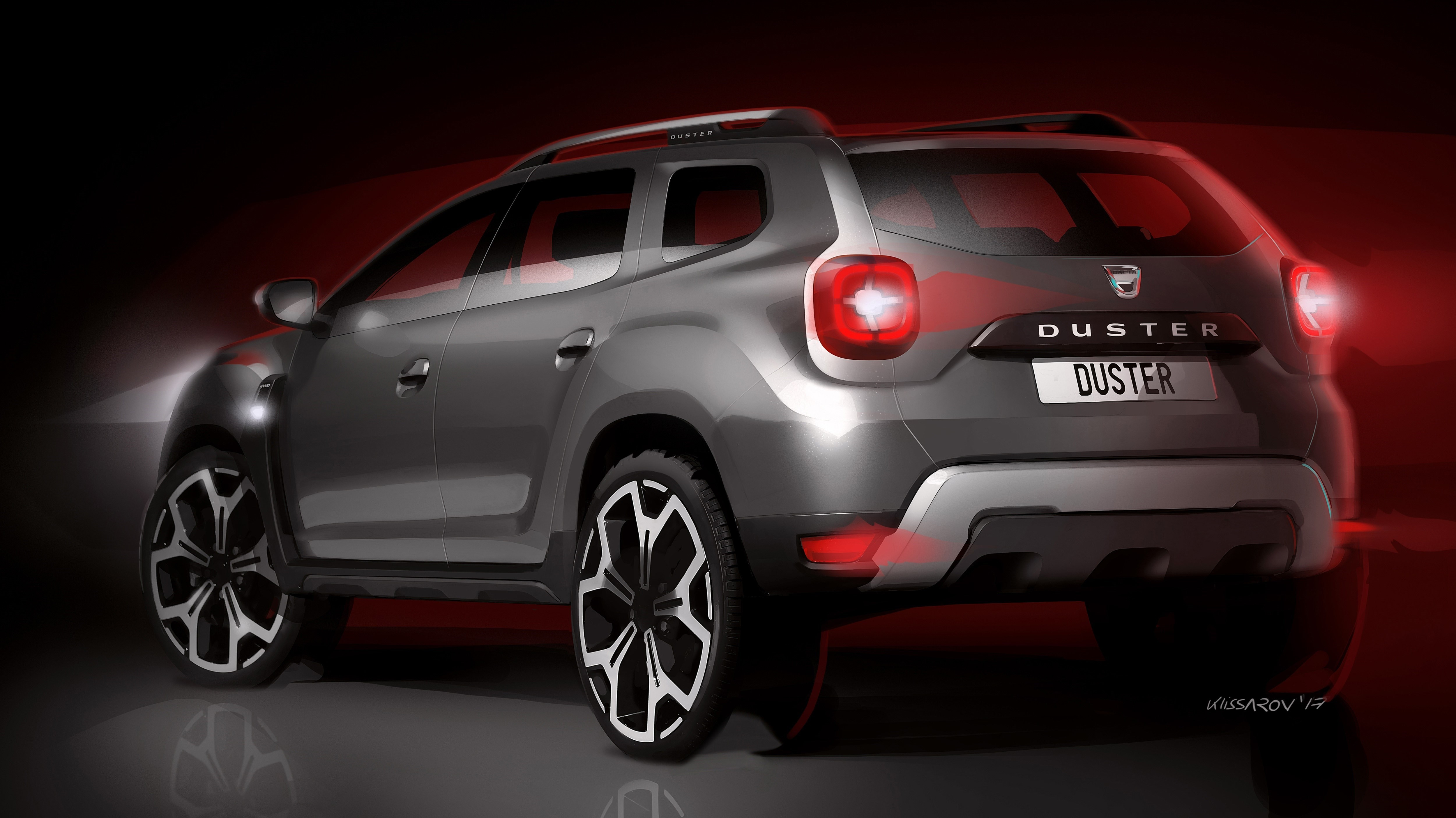 2018 dacia duster revealed with evolutionary design and raised ground clearance autoevolution. Black Bedroom Furniture Sets. Home Design Ideas
