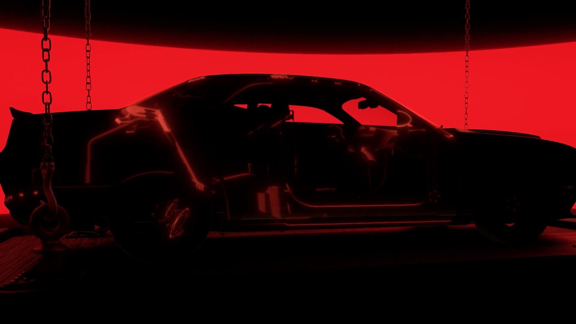 2016 Dodge Journey >> 2018 Dodge Challenger SRT Demon Teaser Video 2 Is All ...