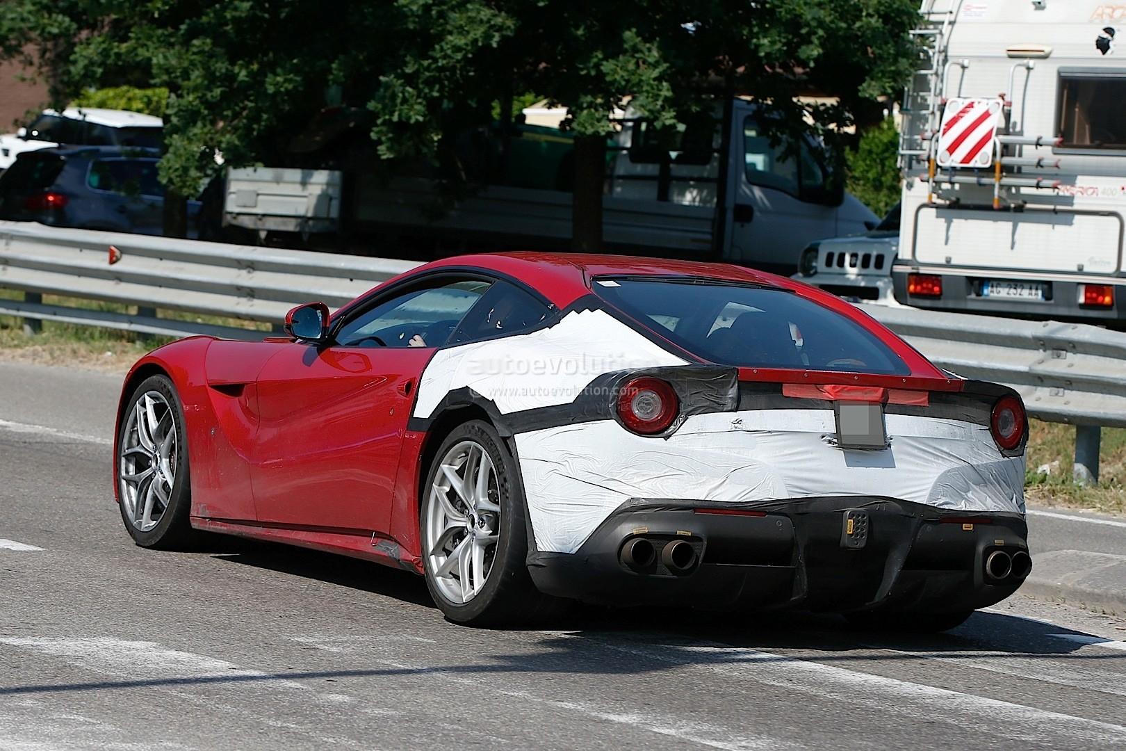 2018 Ferrari F12 M Spied