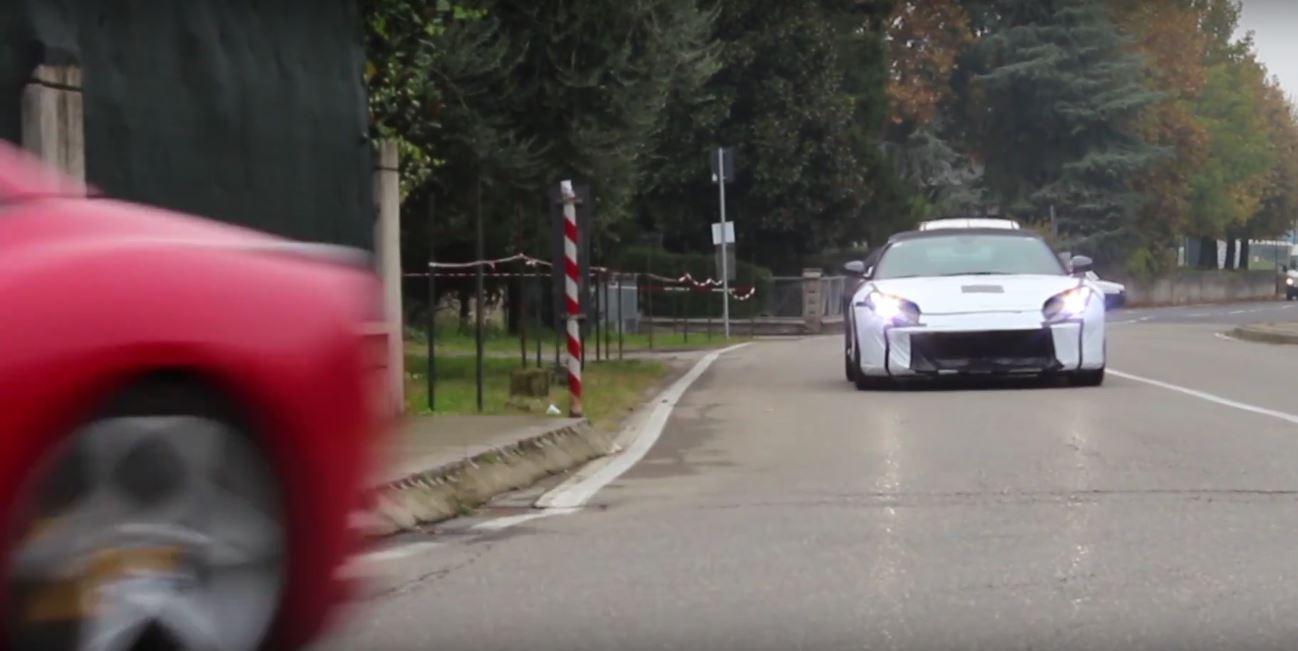 2018 ferrari berlinetta. beautiful 2018 2018 ferrari f12 m spied in maranello  in ferrari berlinetta