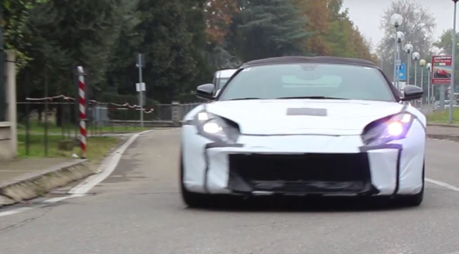 2018 ferrari f12. brilliant ferrari 2018 ferrari f12 m spied in maranello with ferrari f12