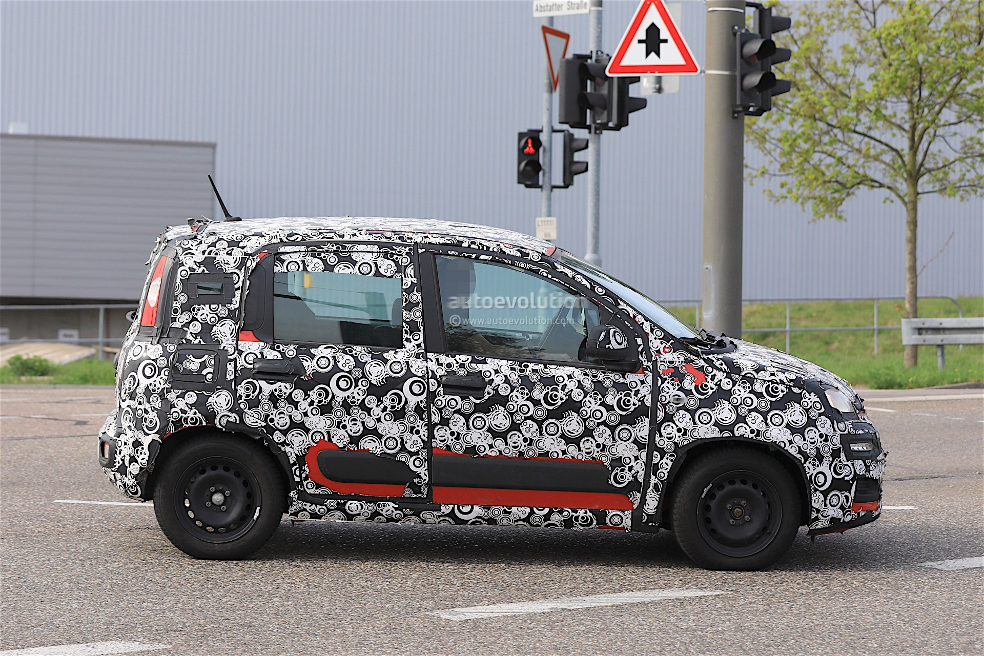 2018 fiat panda facelift spied testing in germany no major changes expected autoevolution. Black Bedroom Furniture Sets. Home Design Ideas
