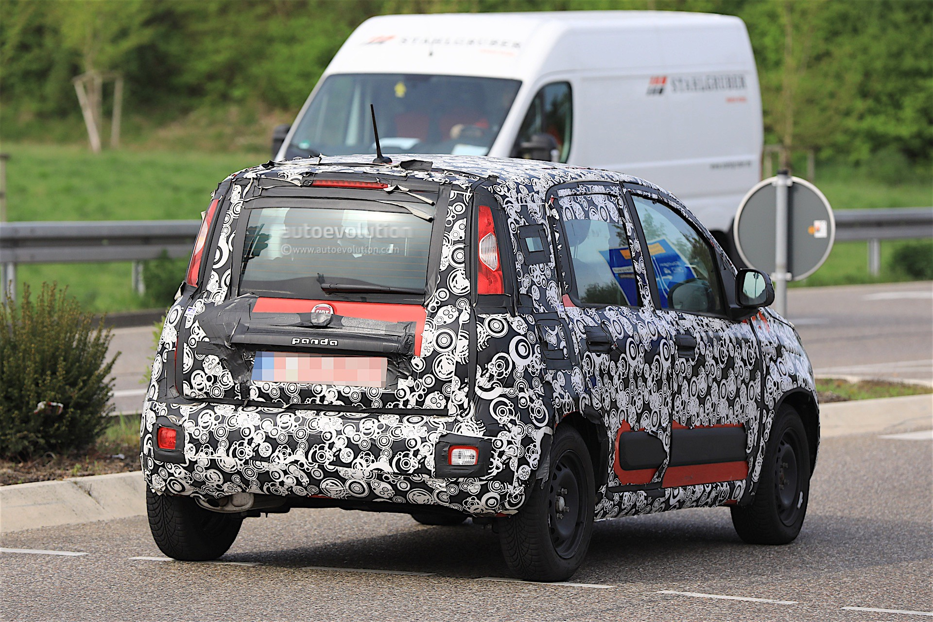 2018 Fiat Panda Facelift Spied Testing In Germany No