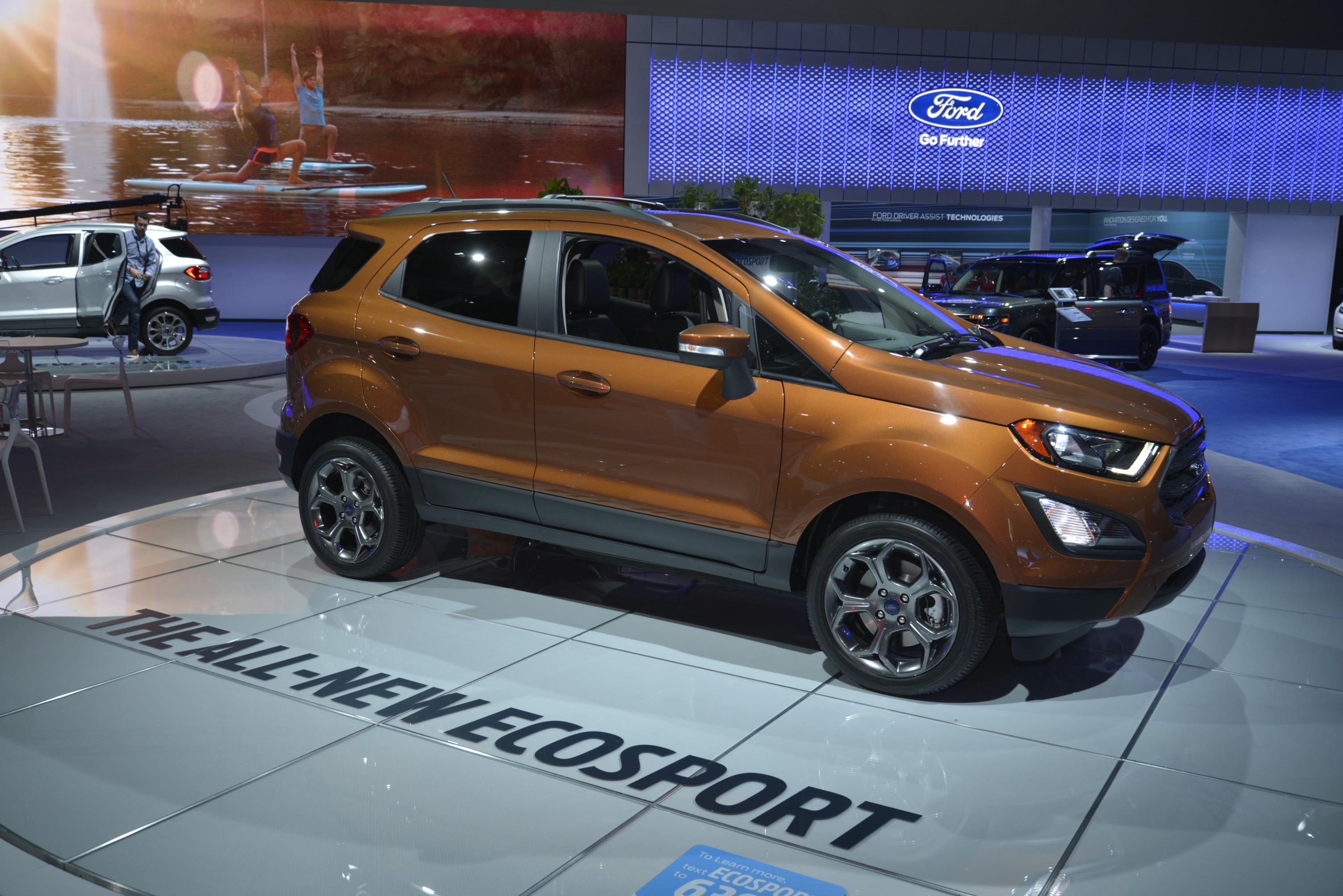 2018 Ford EcoSport Looks Ugly as Sin in Los Angeles ... & 2018 Ford EcoSport Looks Ugly as Sin in Los Angeles - autoevolution markmcfarlin.com