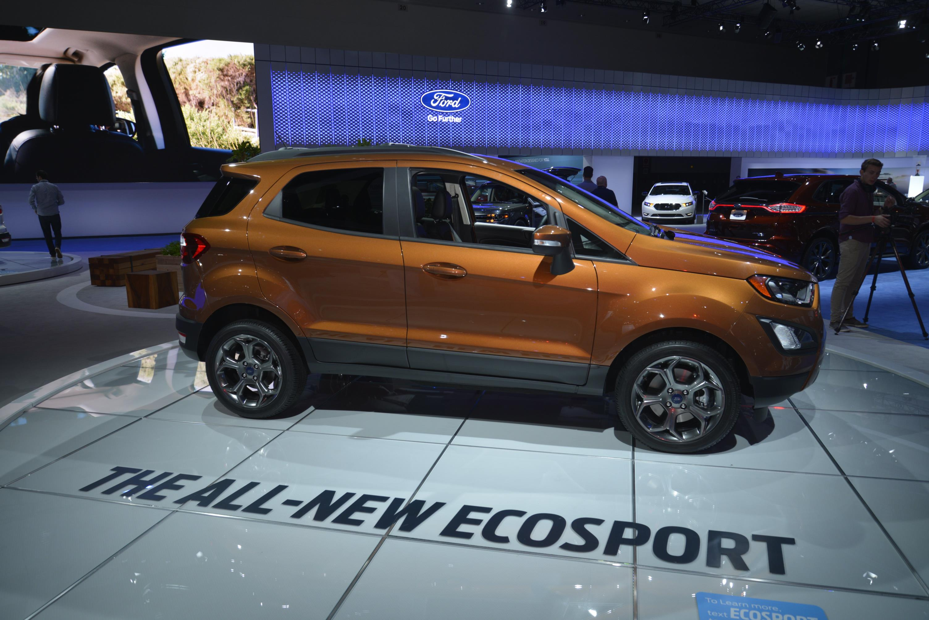 ... 2018 Ford EcoSport Looks Ugly as Sin in Los Angeles ... & 2018 Ford EcoSport Looks Ugly as Sin in Los Angeles - autoevolution markmcfarlin.com