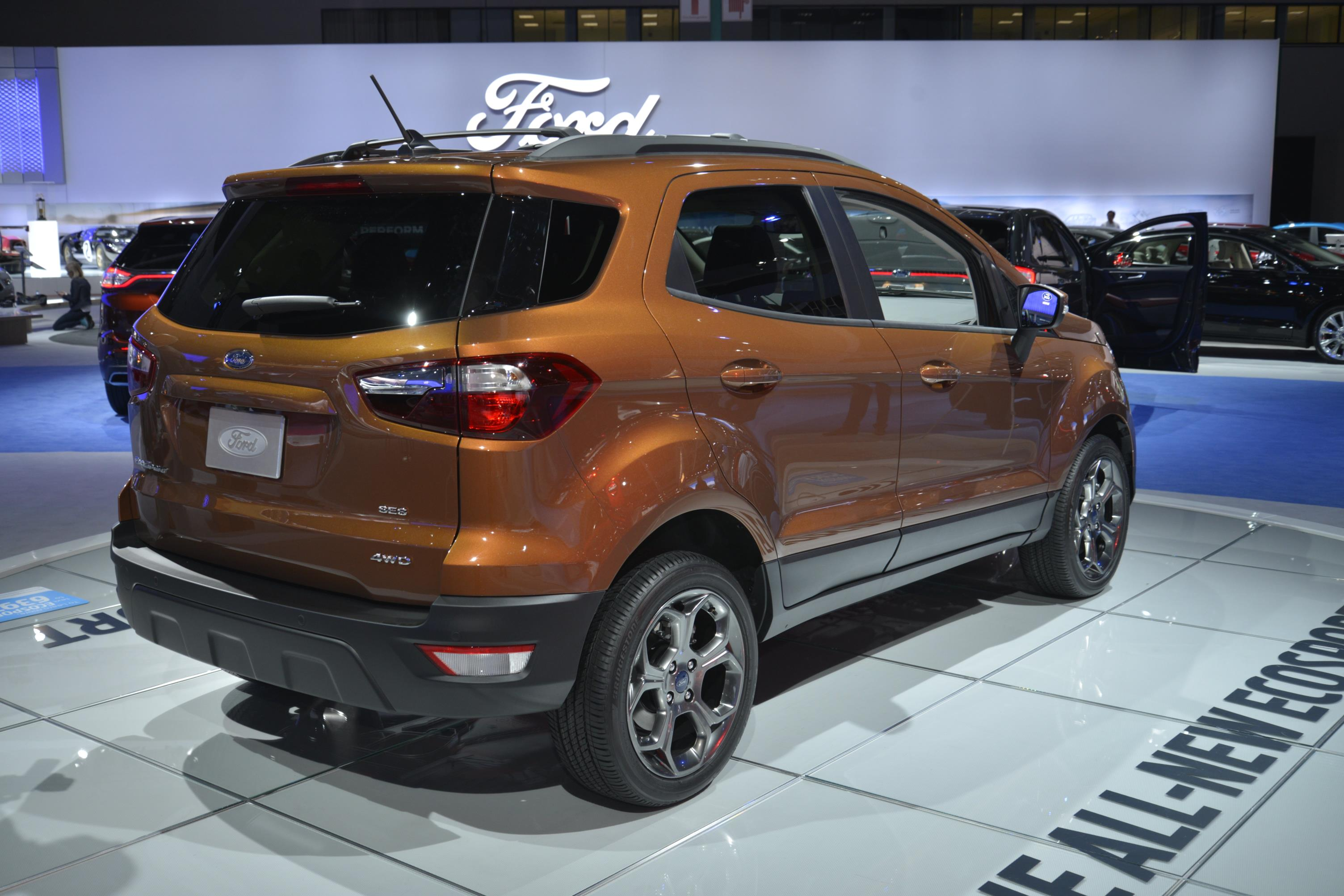 2018 ford ecosport looks ugly as sin in los angeles