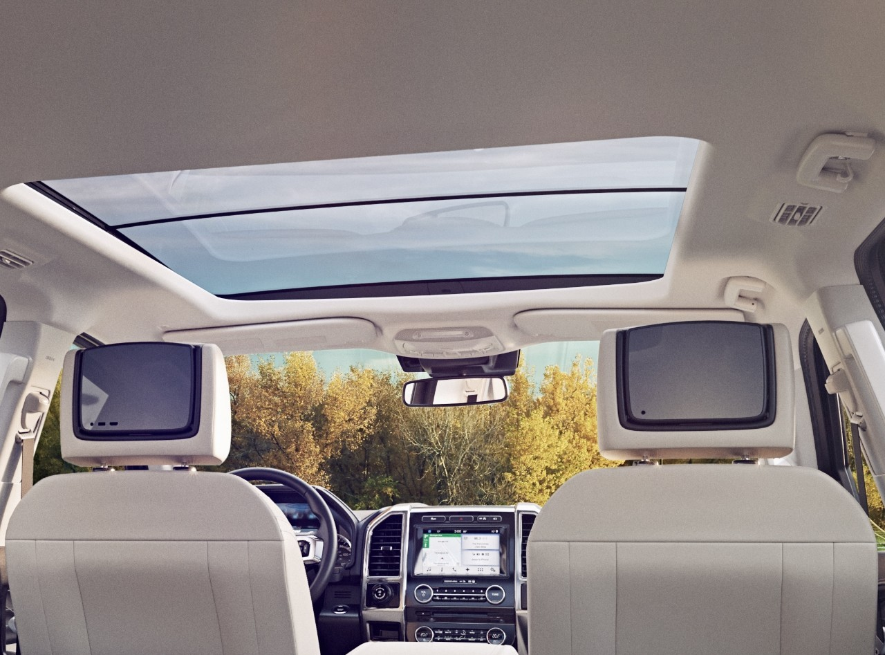 2018 Ford Expedition Takes Rear Seat Entertainment One