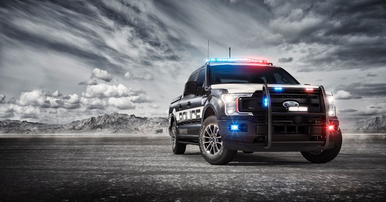 Ford F-150 Police Responder Reporting For Duty