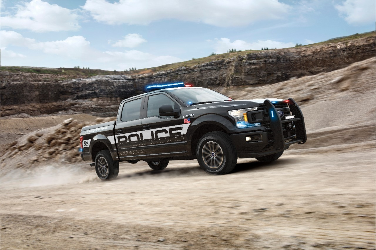 2018 Ford F-150 Police Responder Reporting For Duty ...