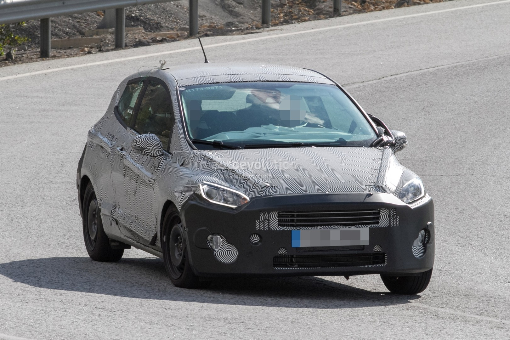 2018 Ford Fiesta 3 Door Spotted On Mountain Road Looks