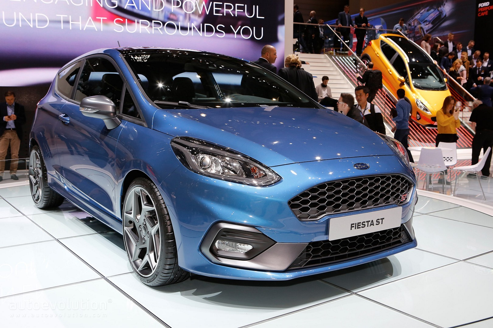 2018 ford fiesta st goes live in geneva has it got enough. Black Bedroom Furniture Sets. Home Design Ideas