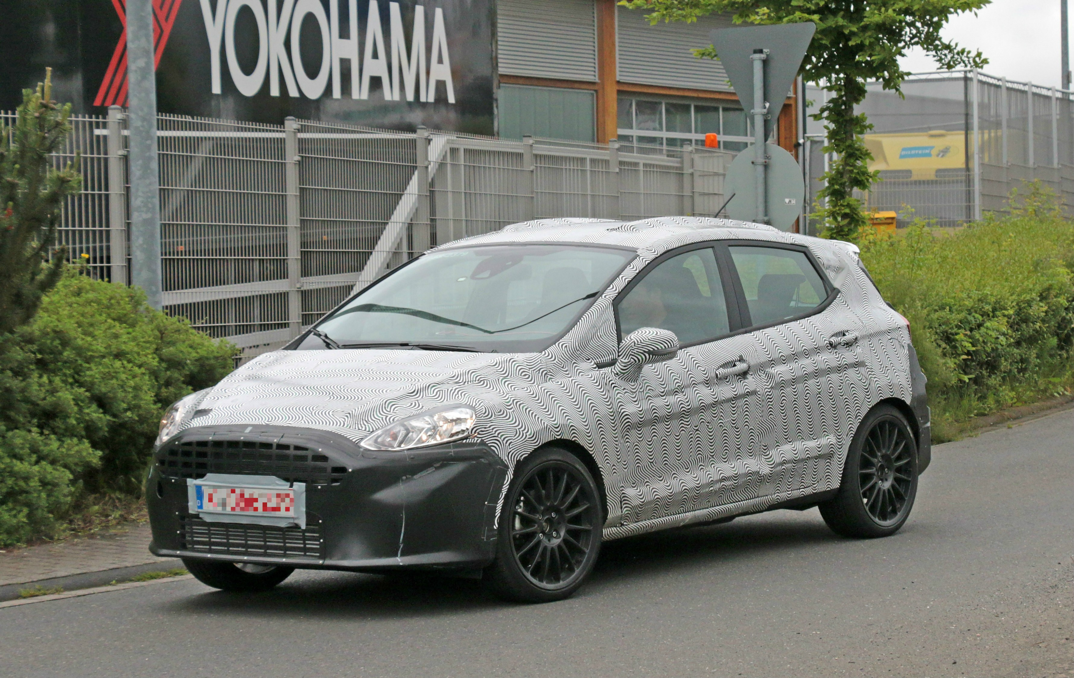 2018 Ford Fiesta ST Spied Benchmarking Against Current Fiesta ST