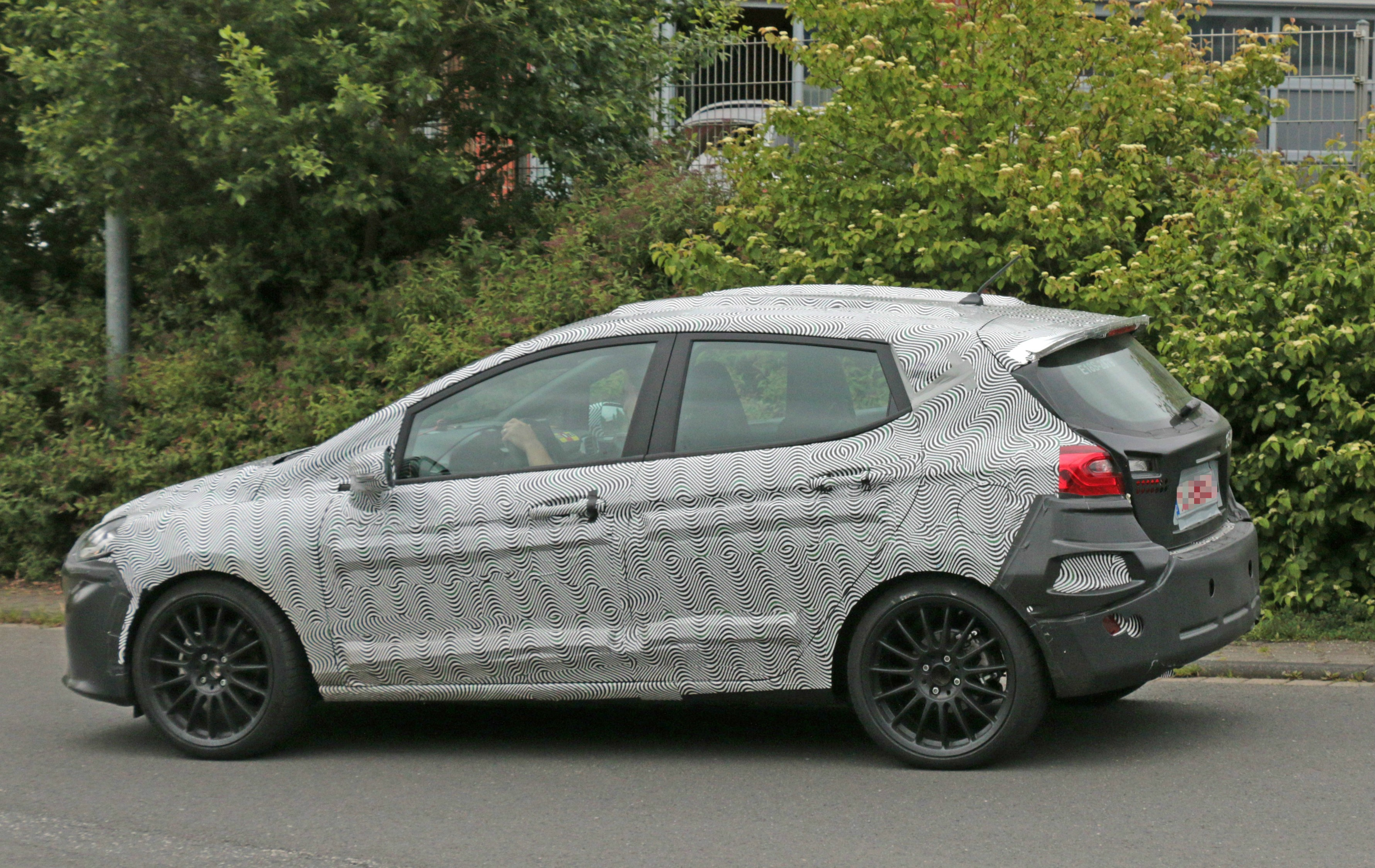 2018 Ford Fiesta ST Spied Benchmarking Against Current ...