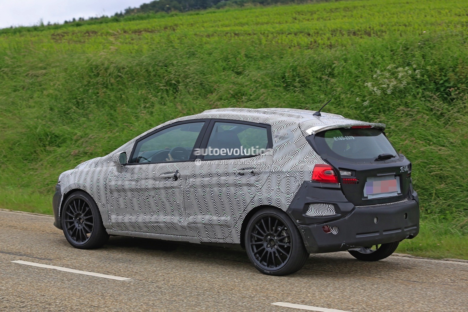 2018 Ford Fiesta ST Spied Benchmarking Against Current Fiesta ST ...