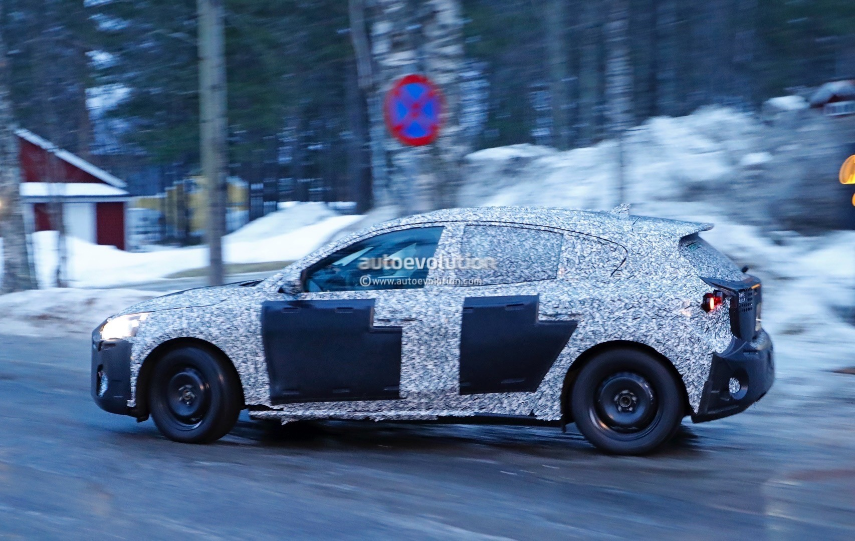 2018 Ford Focus (Mk4) Spied Wearing Production Body Shell - autoevolution