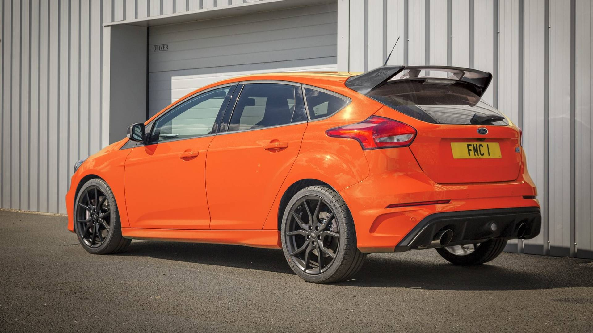 Ford Escape 2014 Custom >> 2018 Ford Focus RS Heritage Edition Is An Orange Swan Song With 375 PS - autoevolution