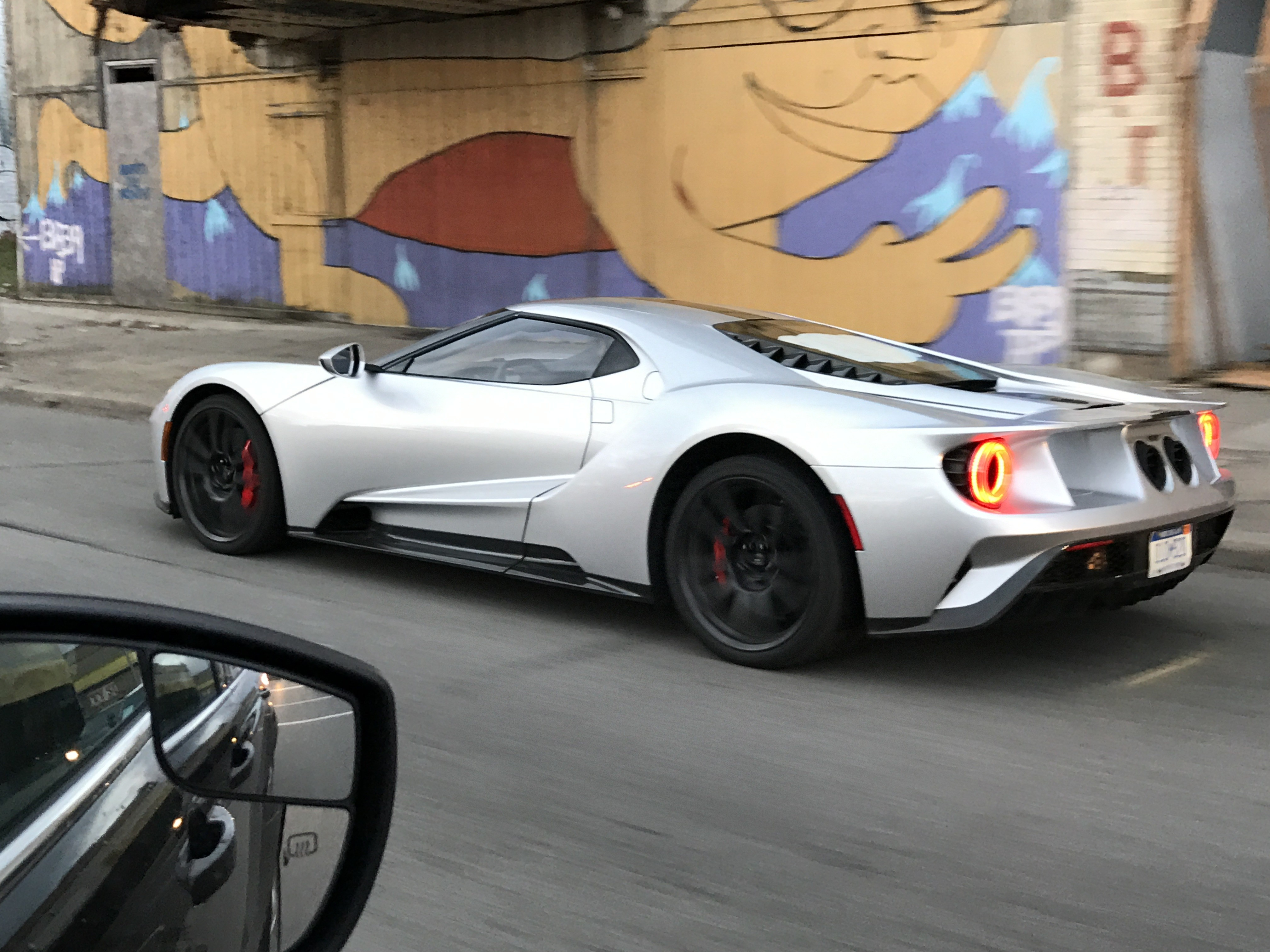 2018 ford gt. plain ford fully naked 2017 ford gt roams the streets of detroit intended 2018 ford gt