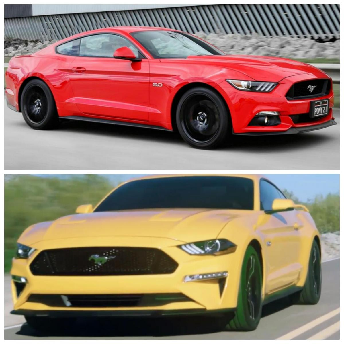 2018 ford mustang convertible presents itself with the top. Black Bedroom Furniture Sets. Home Design Ideas