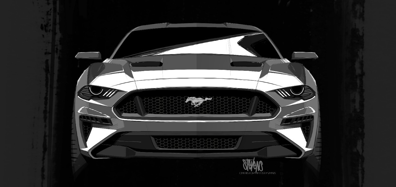 2018 Ford Mustang Convertible Presents Itself With The Top